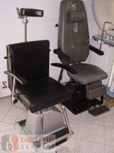 Gégészeti szék motoros, használt orvosi műszer