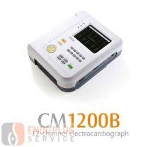 Comen CM1200B hordozható 12-csatornás EKG készülék