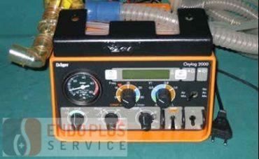 Draeger Oxylog 2000 Lélegeztetőgép