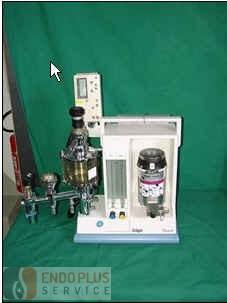 Dräger Titus hordozható altatógép